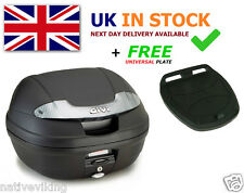 GIVI E340NT TOP BOX case Includes FREE Z113C Universal MONOLOCK Fitting Plate