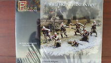 FRENCH INFANTRY WWII PEGASUS 1/72 PLASTIC FIGURES