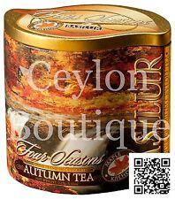 Basilur Autumn Ceylon Black Tea with Maple Syrup & Safflower - Long leaf BOP1