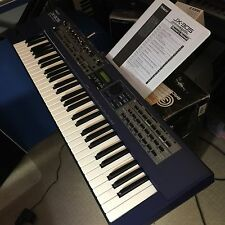 Roland JX-305 groovesynth Vintage Synthesizer Keyboard with Manual - Nice!