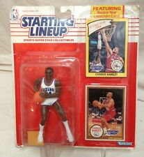 1990-STARTING LINEUP-CHARLES BARKLEY FIGURE-MISP W/ ROOKIE CARD  VARIANT JERSEY