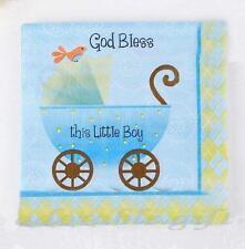 20 2-ply Paper Napkin Serviettes Birthday Wedding Kid Party Boy Baby Shower #16