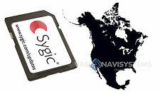 Sygic 2015 3D V13.11 WINCE 5.0, 6.0 Original - Norte América (8GB Micro SD)