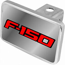 New Ford F-150 Red Logo/Word Tow Hitch Cover Plug