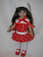 "Tonner Effanbee 10"" Patsy Doll  In Red W/ White Dots Dress Limited Edition 300"