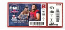 2014 ARIZONA WILDCATS VS WASHINGTON HUSKIES TICKET STUB 11/15 COLLEGE FOOTBALL