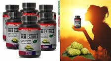 Cholesterol Reduce Pills - Anti Bacterial NONI EXTRACT 500mg 6 Bottles 360 Caps
