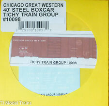 Tichy Train Group #10098 Decal for: Chicago Great Western 40' Single-Door Boxcar