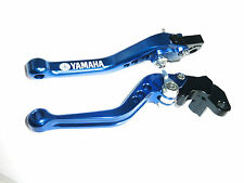 YAMAHA WR125X WR125R 2009-2011 SHORT BLUE BRAKE CLUTCH LEVERS SET RACE ROAD S1ZG
