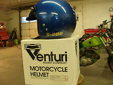 Venturi S200 open face Snell rated helmets 6 per case blue or red with visor