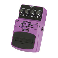 BEHRINGER OD300 OVERDRIVE DISTORTION Guitar Pedal