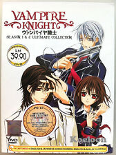 DVD Anime Vampire Knight Complete Season 1 & 2 Collection Box English Language