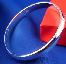 New! wholesale 1pc 925 Sterling silver nice sleek cuff bangle Bracelet