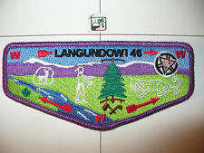 Langundowi Lodge 46,1915- 2015,100th Ann OA Flap,251,256,French Creek Cl,Erie,PA