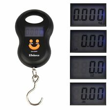 Portable 50kg/10g Electronic Digital LCD Weighing Scale Hanging Travel Luggage K