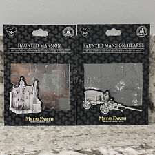 Disney Parks Metal Earth 3D Model Kit - Haunted Mansion & Horseless Hearse Set