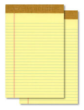 "(2) 5""x8"" 50 Sheet Yellow Writing Note Pads - New"