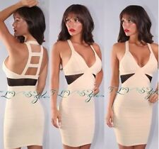 Wow Couture V-neck  Bodycon Dress Size Small