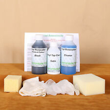 Vinyl Faux Leather Restore Kit/Dye Stain Pigment Paint 2/3 seat Car/Sofa/Clothes