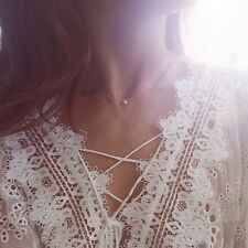 Floating Diamond Necklace Catbird Gilded The Lily