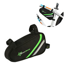 RockBros Cycling Bicycle Triangle Frame Pannier Tool Storage Front Top Tube Bag