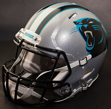 ***CUSTOM*** CAROLINA PANTHERS NFL Riddell Full Size SPEED Football Helmet