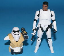 STAR WARS THE FORCE AWAKENS FINN STORMTROOPER POWER UP LOOSE COMPLETE