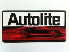 "AUTOLITE GT40 Ford vinyl sticker decal 14"" full color"