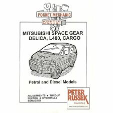 Pocket Mechanic for Mitsubishi Space Gear, Delica L400, Cargo Petrol/Diesel