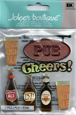 Jolee's LONDON PUB 3d Scrapbook Stickers