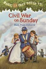 A Stepping Stone Book(TM) Ser.: Civil War on Sunday No. 21 by Mary Pope...