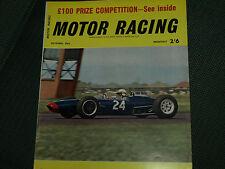 Bruce mclaren track tests a 1962 cooper climax T60 voiture V8 formule 1 brabham BT3