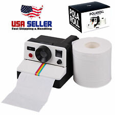 Retro Polaroid Camera Shaped Toilet Roll Box / Camera Toilet Tissue Paper Holder