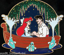 DISNEY LITTLE MERMAID ARIEL ERIC KISS THE GIRL LIMITED EDITION PIN SOLD OUT!