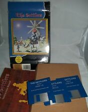 Boxed Commodoe Amiga Game - The Settlers