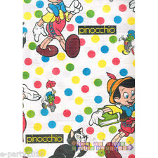 PINOCCHIO PAPER TABLE COVER ~ Vintage Birthday Party Supplies Decorations Disney