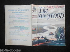 ORIGINAL Leslie Ward VINTAGE DUSTJACKET for The Sin Flood by Shirley Murrell