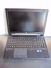 HP EliteBook Workstation 8560w Laptop 500GB Intel Core i7 8GB nVidia Quadro