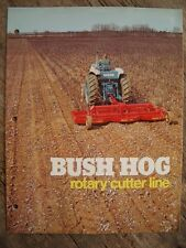 Vintage Original Bush Hog Rotary Cutter Line Booklet 8-pages