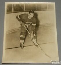 Original Late 40's Ted Lindsay Detroit Red Wings Photo