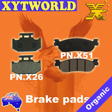 Front Rear Brake Pads Yamaha XG250 XG 250 Tricker 04-06
