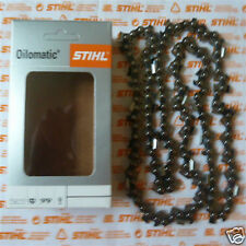 """16"""" 40cm Genuine Stihl Chainsaw Chain MS250 250 025 325"""" 62 DL Incl Tracked Post"""