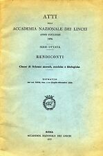ATTI della ACCADEMIA NAZIONALE DEI LINCEI - ANNO CCCLXXIII°- 1976 RENDICONTI