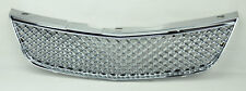 Chevy Impala 00-05 Front Hood Chrome Honyecomb Mesh Front Grill