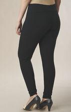 woman's sz medium Black Control Legging by Monroe & Main nwot