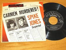 "NOVELTY EP - SPIKE JONES - RCA EPA-440 - ""CARMEN MURDERED!"""