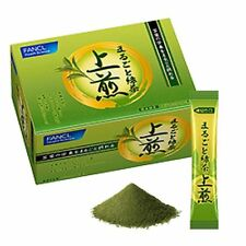 FANCL Marugoto Sencha Green Tea Powder catechin mineral vitamin From Japan