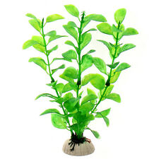 Artifical Grass Aquarium Fish Tank Water Weeds Plants Decoration CZ02 Green D4