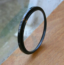 49mm  to  52mm filter step up  ring used thin design badged hoya japan 3mm step