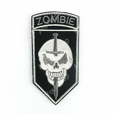 Zombie Slayer Tactical Combat Killer Team Outbreak Response Swat Emblem Patch